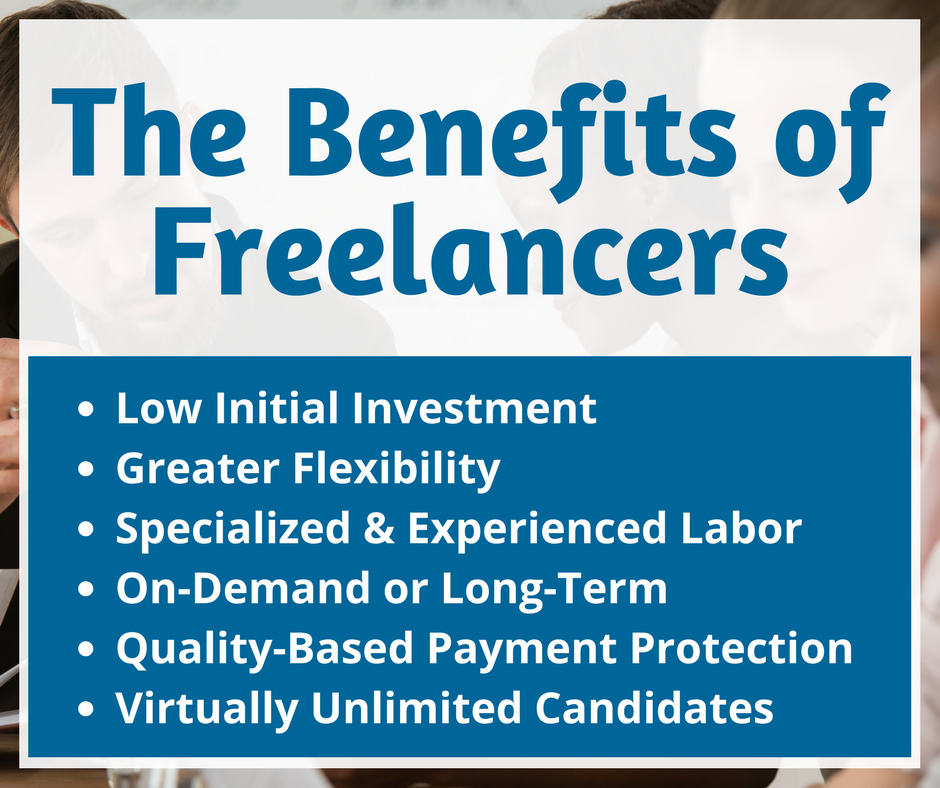 The Benefits of Freelancers