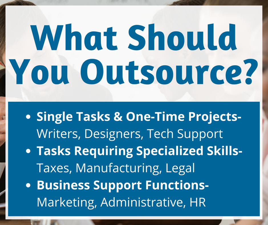 What to Outsource