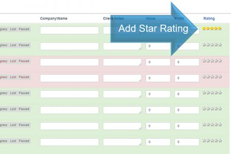 Updating Your Lead Manager- Star Rating