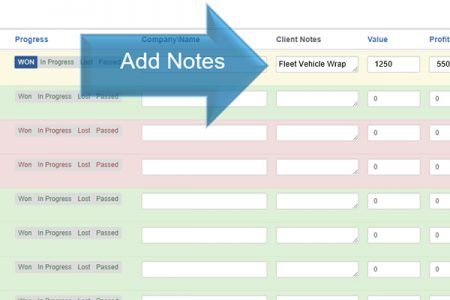 Updating Your Lead Manager- Add Notes