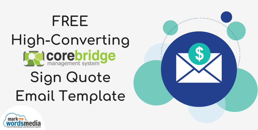 Corebridge Quote Email Template