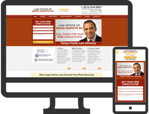 tampa family law hurvitz 970x743 300x230 Family Law Lead Generation Case Study - Jacksonville, FL