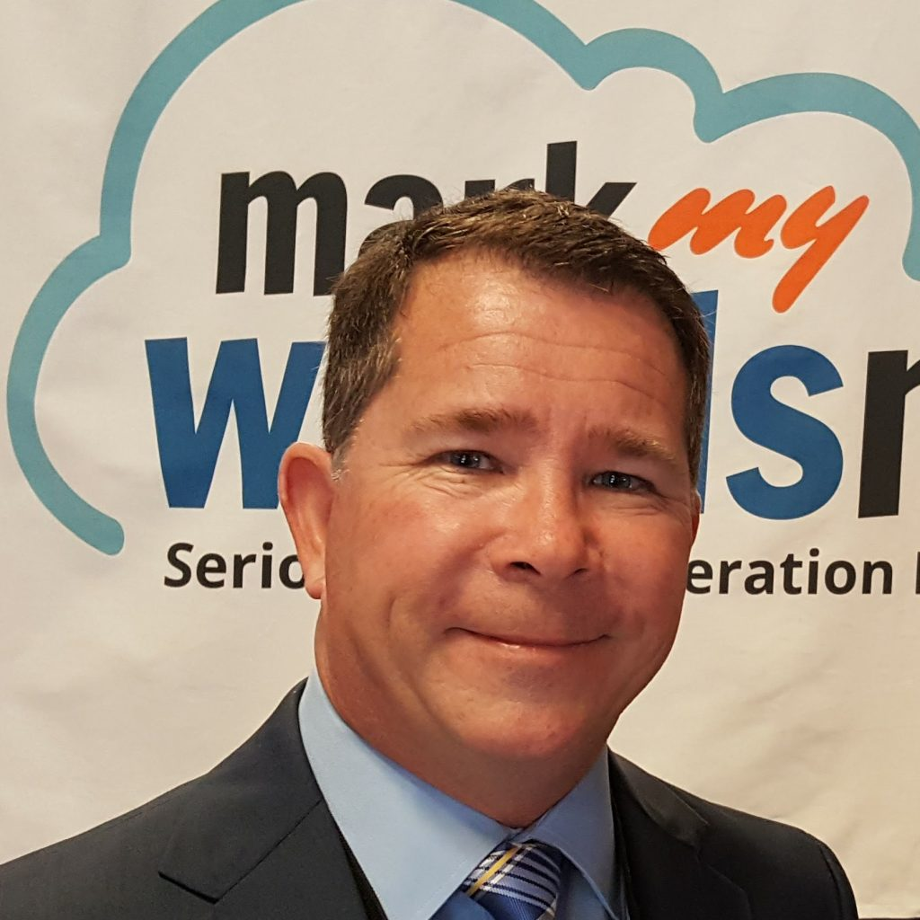 Scott Baker, President of Mark My Words Media