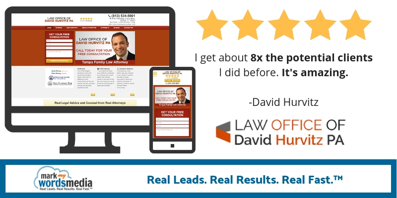 8x the legal leads I got before